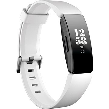 Fitbit Inspire HR - White/Black (FB413BKWT)