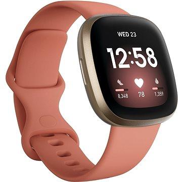 Fitbit Versa 3 - Pink Clay/Soft Gold Aluminum (FB511GLPK)