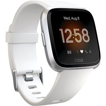 Fitbit Versa Lite - White/Silver Aluminum (FB415SRWT)