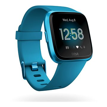 Fitbit Versa Lite - Marina Blue/Marina Blue Aluminum (FB415BUBU)