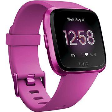 Fitbit Versa Lite Mulberry / Mulberry Aluminum (FB415PMPM)