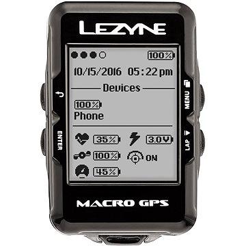 Lezyne Macro GPS Black (1-GPS-MACRO-V104)