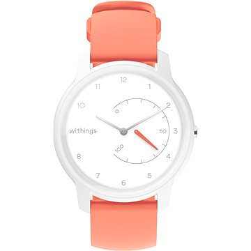 Withings Move - White / Coral (3700546705229)