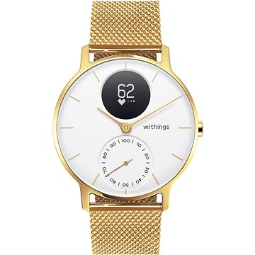 Withings Steel HR (36mm) LIMITED EDITION - Champagne Gold / White (3700546705540)