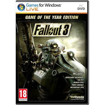 Fallout 3 CZ (Game Of The Year) ENG