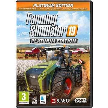 Farming Simulator 19 Platinum Edition (8595172607857)
