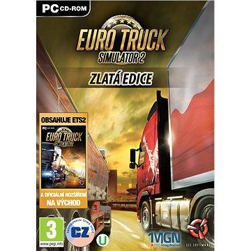 Euro Truck Simulator 2 Gold (8592720121513) + ZDARMA Digitální předplatné LEVEL - Level253