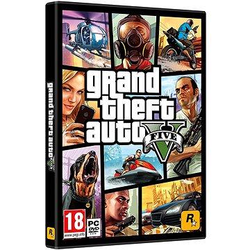 Grand Theft Auto V (GTA 5) (5026555064255) + ZDARMA Digitální předplatné LEVEL - Level269