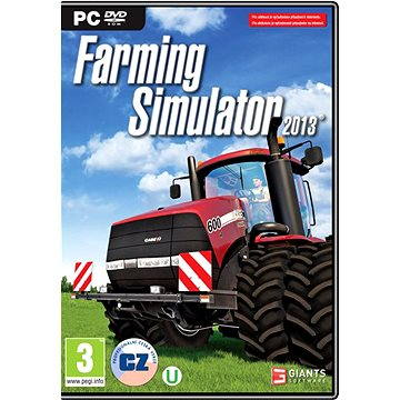 Farming Simulator 2013 CZ (8592720121131)