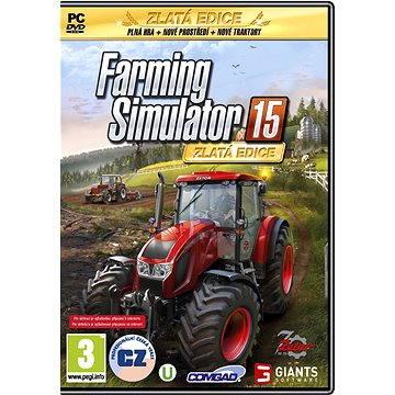 Farming Simulator 15 - Zlatá edice (8592720122336)