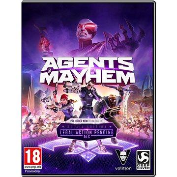 Agents of Mayhem (4020628784485) + ZDARMA Krabička originální Steelbook Agents of Mayhem