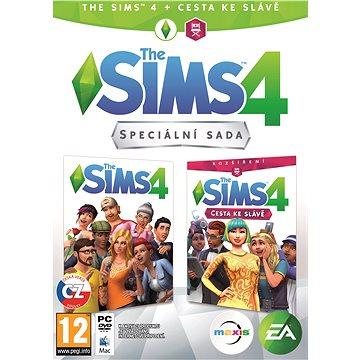 The Sims 4: Cesta ke slávě bundle (Plná hra + rozšíření) (1067581)