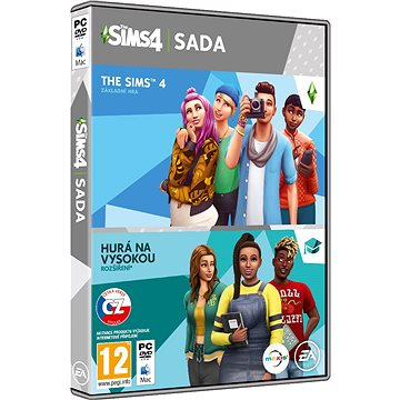 The Sims 4: Hurá na vysokou bundle (Plná hra + rozšíření) (5030935124019)