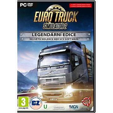 Euro Truck Simulator 2: Legendární Edice CZ (8592720122282) + ZDARMA Digitální předplatné LEVEL - Level253