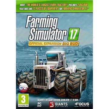 Farming Simulator 17 oficiální rozšíření BIG BUD (8592720123005)