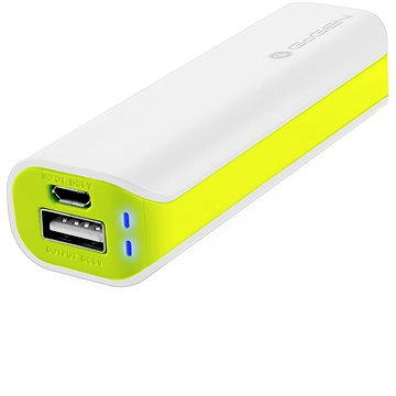 Gogen Power Bank 2600 mAh bílo-zelená (GOGPB26002WG)
