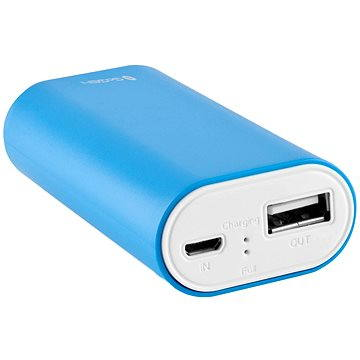 Gogen Power Bank 4000 mAh bílo-modrá (GOGPB40001BLW)