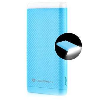 Gogen Power Bank 8000 mAh svítilna modrá (GOGPBL80004BL)