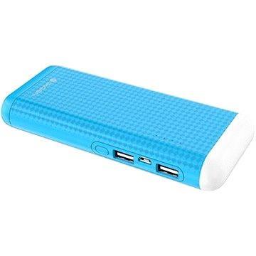 Gogen Power Bank 12500 mAh svítilna modrá (GOGPBL125004BL)