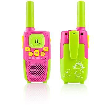 Gogen Maxi vysílačky P růžovo-zelené (GOGMAXIVYSILACKYP)