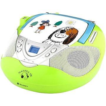 Gogen Maxi rádio GN zelený (GOGMAXIRADIOGN)