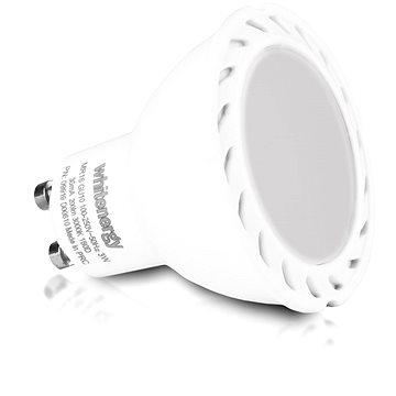 Whitenergy SMD2835 MR16 GU10 3W - bílá mléčná (09919)