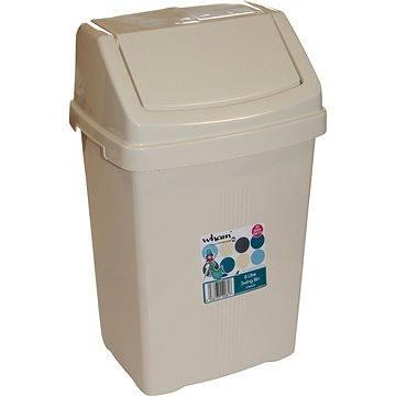 Odpadkový koš Wham Koš odpadkový 8l béžový 12081 (42000038)