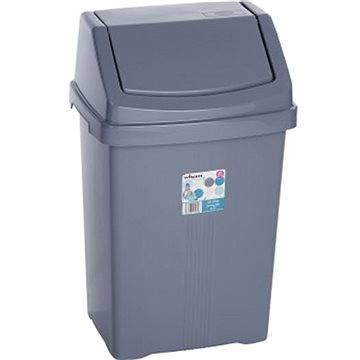 Odpadkový koš Wham Koš odpadkový 25l stříbrný 11750 (42000045)