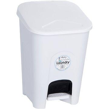 Odpadkový koš Wham Koš odpadkový 16l pedál. bílý 11760 (42000074)