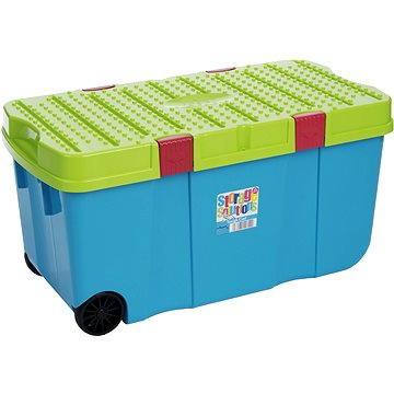 Wham Box s víkem a kol. 100l modrý 11883 (42000005)