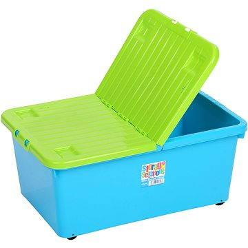 Wham Box se skl.víkem 45l modrý 12696 (42000019)