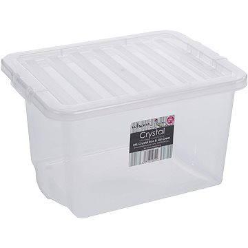 Wham Box s víkem 24l bílá 10840 (42000022)