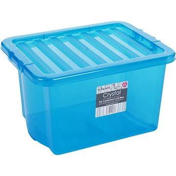 Wham Box s víkem 24l modrá 10843 (42000023)