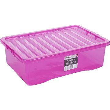 Wham Box s víkem 32l růžová 12332 (42000027)