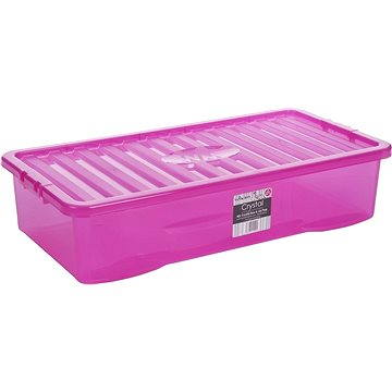 Wham Box s víkem 42l růžová 12342 (42000030)
