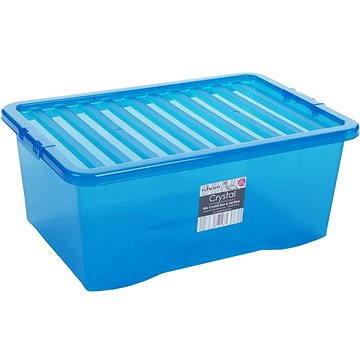 Wham Box s víkem 45l modrá 10873 (42000032)