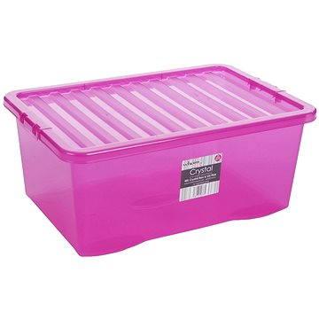 Wham Box s víkem 45l růžová 12337 (42000033)
