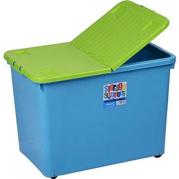 Wham Box se skl.víkem 80l modrý 12751 (42000082)