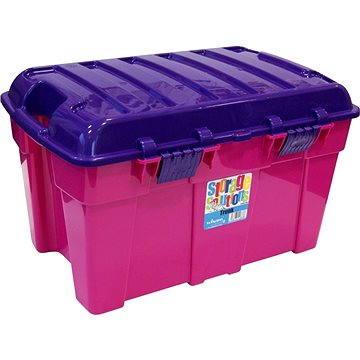 Wham Box s víkem 50l růžový 15225 (42000575)