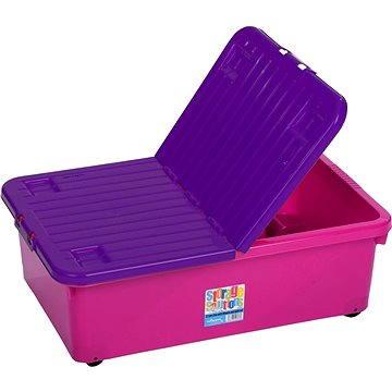 Wham Box se skl.víkem 32l růžový 15350 (42000578)