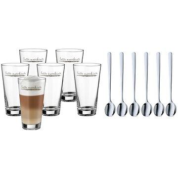 WMF 996269999 Set na Latte Macchiato, sklenice + lžičky 6ks (996269999)