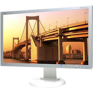 23 NEC MultiSync LED E231W stříbrno-bílý (60002933)