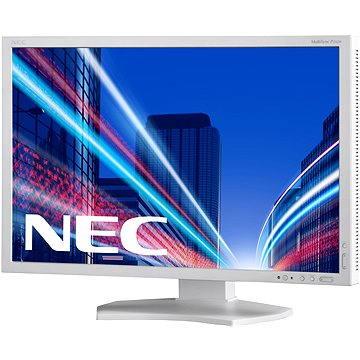 23 NEC MultiSync LED P232W stříbrno-bílý (60003323)
