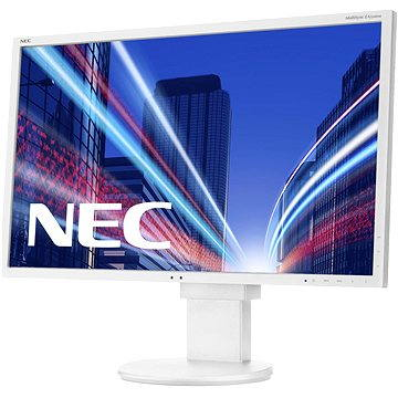 24 NEC MultiSync LED EA244WMi bílý (60003409) + ZDARMA Film k online zhlédnutí Lovci hlav
