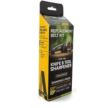 Work Sharp Diamond Belt Kit Qty 1 - 180 Grit Qty 1 - 1500 Grit (WSSA0002970)