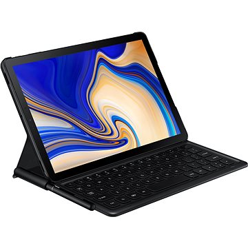 Samsung Galaxy Tab S4 Bookcover Keyboard černé (EJ-FT830UBEGWW)