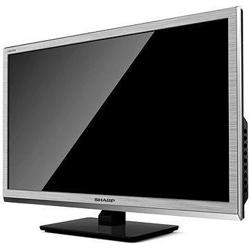 24 Sharp LC-24CHE4000ES stříbrná + ZDARMA Poukaz FLIX TV