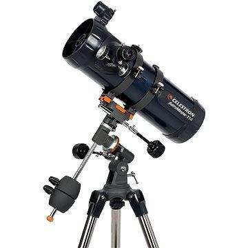 Celestron AstroMaster 114 EQ + 4mm okulár v balení zdarma (31042)