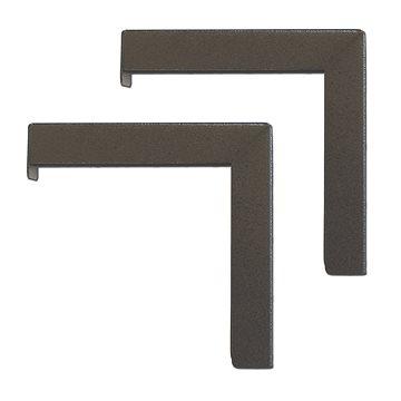 ELITE SCREENS držák na strop 12 pro plátna, černý (ZVMAXLB12-B)