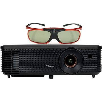 Optoma W330 + 3D brýle ZD302